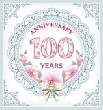 100 anniversary Stock Photo