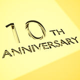 Anniversary concepts Royalty Free Stock Photos