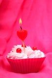 Anniversary cupcake Royalty Free Stock Image