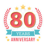 Anniversary Emblem Stock Photography