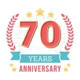Anniversary Emblem Stock Images