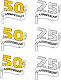 Anniversary Royalty Free Stock Images