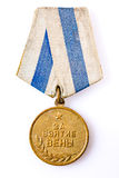 Anniversary medals of a victory in the War Stock Image
