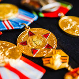 Anniversary medals of a victory in the War Royalty Free Stock Photos
