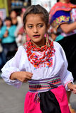 Anniversary Party For The Educational Unit in Otavalo, Ecuador Stock Image
