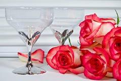 Anniversary Roses royalty free stock photos