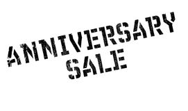 Anniversary Sale rubber stamp Stock Photos