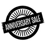 Anniversary Sale rubber stamp. Grunge design with dust scratches. Effects can be easily removed for a clean, crisp look. Color is easily changed vector illustration