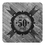 Anniversary sign 50 years text retro design Stock Images