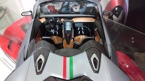 Lamborghini Centenario Tricolore roadster hypercar Stock Images