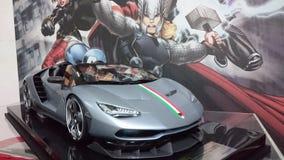 Lamborghini Centenario Tricolore roadster hypercar Stock Photos