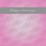 Anniversary template stock images