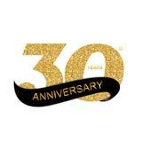 Anniversary Vector Illustration Stock Photography