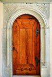 Anno 1040 ξύλινη πόρτα Στοκ Φωτογραφία