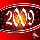 Anno 2009 illustrazione vettoriale