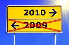Anno 2010 Fotografia Stock
