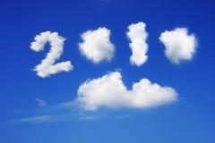 Anno 2010 Fotografie Stock