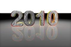 Anno 2010 Fotografie Stock Libere da Diritti