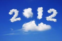Anno 2012 Immagini Stock
