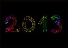 Anno 2013 Fotografie Stock