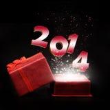 Anno 2014 Fotografie Stock