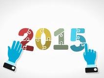Anno 2015 Fotografie Stock