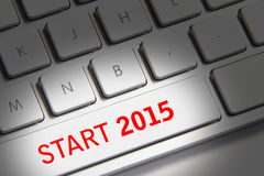 Anno 2015 Immagine Stock