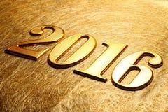 Anno 2016 Fotografia Stock