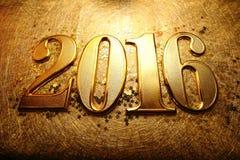 Anno 2016 Immagini Stock