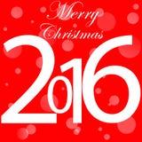 Anno 2016 Fotografie Stock