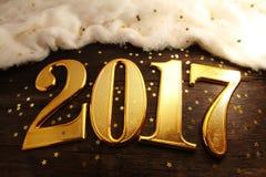 Anno 2017 Fotografia Stock