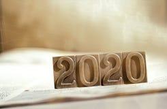 Anno 2020 Fotografie Stock