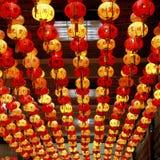 Anno cinese della lanterna nuovo. Fotografia Stock