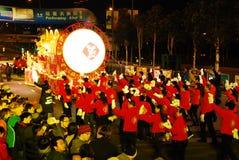 Anno cinese internazionale del Cathay Pacific nuovo Nigh Immagine Stock Libera da Diritti