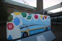 Anno del bus Fotografie Stock Libere da Diritti