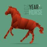 Anno del cavallo. Immagini Stock Libere da Diritti
