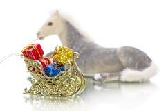 Anno del cavallo 2014 Fotografia Stock