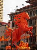 Anno del cavallo Fotografia Stock Libera da Diritti
