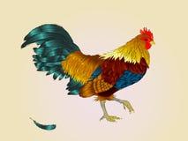Anno del gallo Nuovo anno cinese del gallo Fotografia Stock