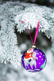 Anno della bagattella di Natale della capra Fotografia Stock