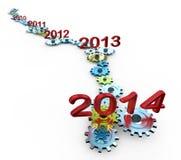 Anno di scadenza Fotografia Stock