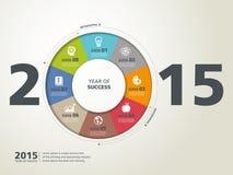 Anno di successo Fotografia Stock