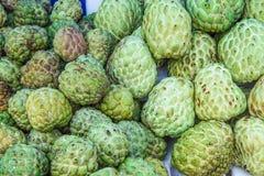 Annona проданный в сельских рынках в Таиланде Стоковые Изображения RF