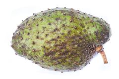 Annona fruit isolated Stock Images