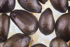 Annona fruit seeds Royalty Free Stock Photo
