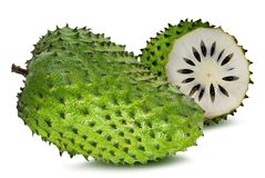 Annona muricata.Soursop fruit Stock Photography