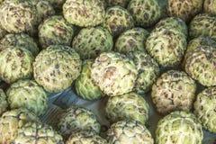 Annona reticulata delle mele cannella Fotografie Stock Libere da Diritti