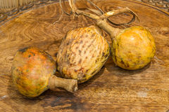 Annona scaly, sugar apple fruit. Annona cherimola fruit. Organic custard apple, sweetsop fruit. Organic fruit concept. Selective focus Stock Photo