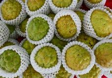 Annonaceae φρούτα για την πώληση στην οδό στο Ταϊνάν, Ταϊβάν Στοκ Εικόνες