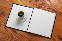 Annonce de café illustration stock